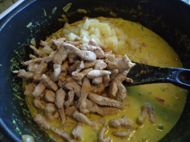 Putencurry mit Ananas - Rezept - Bild Nr. 8