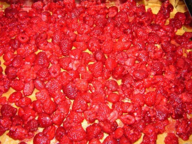 Kuchen & Torten : Himbeer-Schmand-Kuchen mit Eierlikörguß - Rezept - Bild Nr. 6
