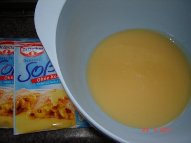 Kuchen & Torten : Himbeer-Schmand-Kuchen mit Eierlikörguß - Rezept - Bild Nr. 8