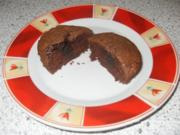 Schoko-Muffins mit flüssigem Kern - Rezept