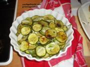 Meine marinierten Zucchini - Rezept
