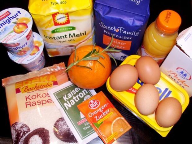 Kuchen: Orangen-Rosmarin-Lämmer - Rezept - Bild Nr. 2