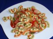 Festlicher Oster-Nudelsalat - Rezept