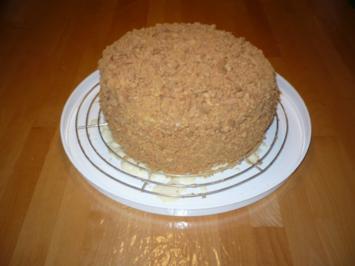 Napoleon - Kuchen - Rezept