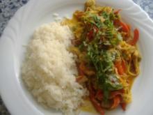 Filetspitzen mit Gemüse aus dem Wok - Rezept