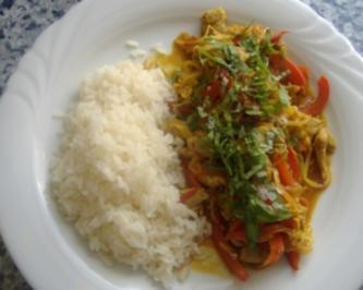 Rezept: Filetspitzen mit Gemüse aus dem Wok