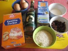 Reiskuchen mit Rum - Rezept