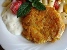 Frischkäse-Möhrenbratling - Rezept