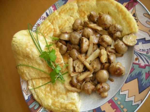 Pfannekuchen pikant - Rezept