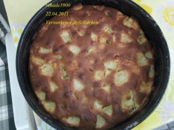 Rezept: Kuchen: Moni's schneller Versunkener Apfelkuchen