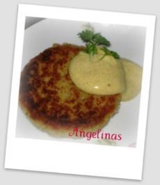 Kokosburger - mit Currysoße - Rezept