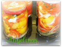 Eingelegte Paprika - Rezept