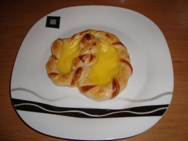 Puddingbrezeln - Rezept