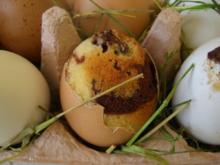Meine in der Eierschale gebackenen Ostereier für Euch alle! - Rezept