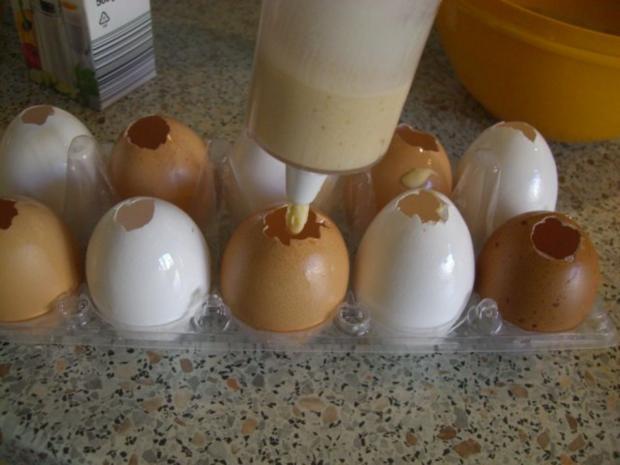 Meine In Der Eierschale Gebackenen Ostereier Fur Euch Alle Rezept