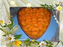 Kuchen : Mandarine - Schoko - Rezept