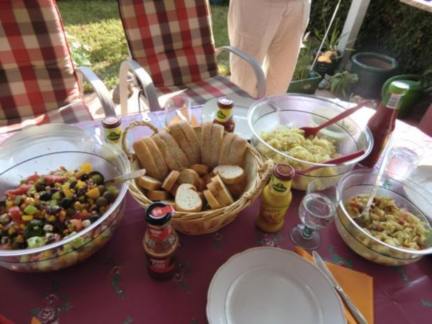 Spargelsalat mit Orangensaft und Eier Vinaigrette - Rezept - Bild Nr. 5