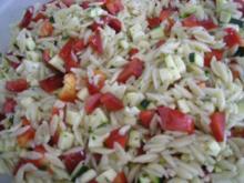 Griechischer Nudelsalat - Rezept