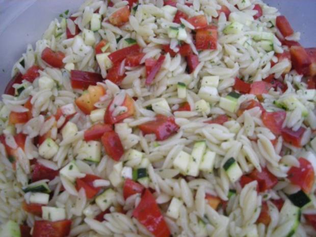 Griechischer Nudelsalat - Rezept - Bild Nr. 3