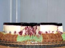Kirschtorte mit Vanillepudding - Rezept