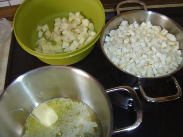 Sellerie-Apfel-Suppe - Rezept - Bild Nr. 3