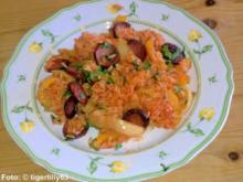 Ungarische Reispfanne - Rezept