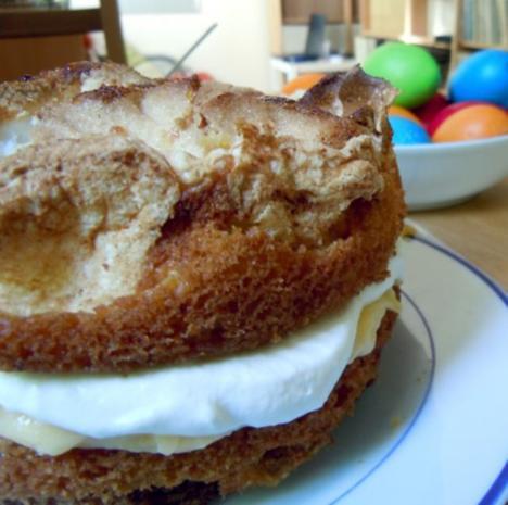 Zitronen Baiser Torte Rezept Mit Bild Kochbar De