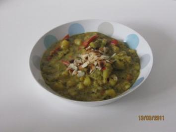 Indisches Gemüse - Curry - Rezept