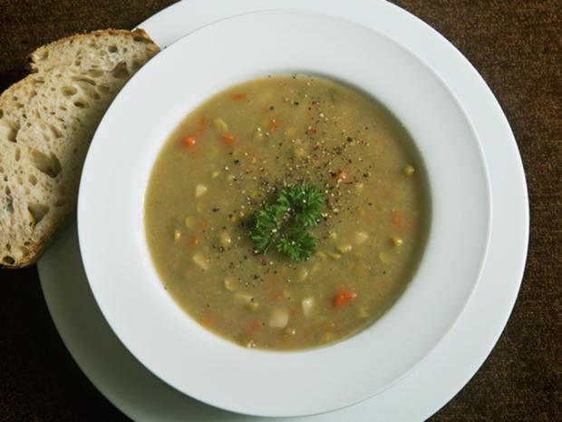 Vegetarische Erbsensuppe - Rezept - Bild Nr. 2