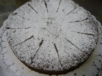 Schokoladenkuchen ohne Mehl - Rezept
