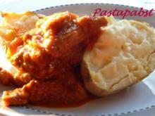 Baked Potato mit Schnitzelstreifen - Rezept