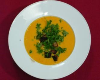 Kürbissuppe mit Ingwer (Bettina Böttinger) - Rezept