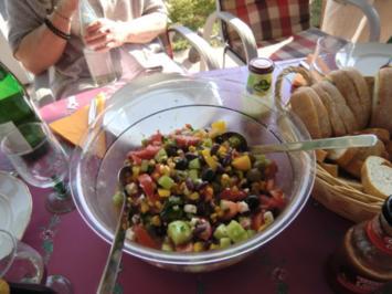 Bauernsalat griechische Art - Rezept