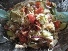 Spaghetti-Cappelini-Salat - Rezept