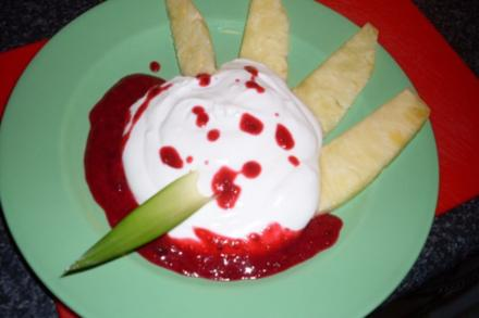 Ananas mit Joghurt-Quark ... - Rezept
