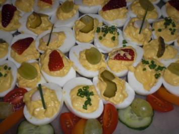 Gefüllte Eier - Rezept