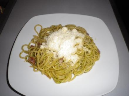 Pesto - Spaghetti - Rezept