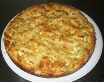 Gitter-Apfelkuchen - Rezept