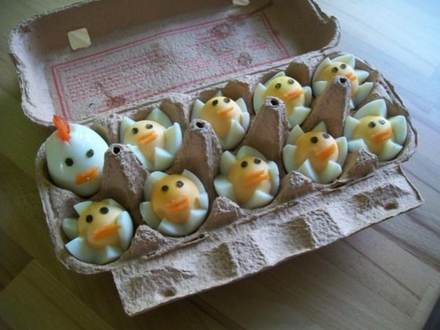 Hühnerfamilie - Rezept