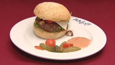 Wagyu-Burger Samurai (Karim Maataoui) - Rezept