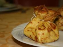 Crêpes-Beutel mit Apfelfüllung - Rezept