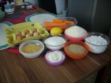 Rezept: Möhren-Kokoskuchen