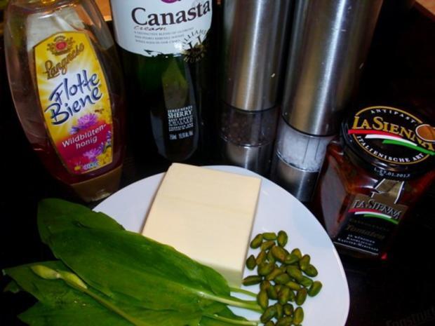 Aufstrich: Bärlauch-Butter - Rezept - Bild Nr. 2