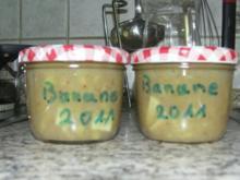 Bananenmarmelade - Rezept