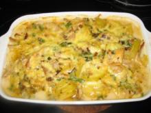 Kartoffel-Hähnchen-Auflauf - Rezept