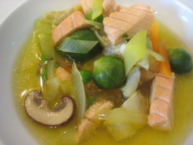 Meine Fischsuppe - Rezept