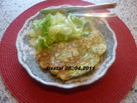 Grüne Pfannenkuchen - Rezept