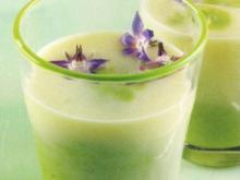 Spargelcreme grün-weiß - Rezept