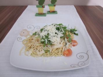 """Rezept: Sommer Pasta """"Rucola"""""""