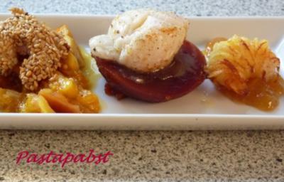 Rezept: Kartoffelgarnele mit Mangochutney